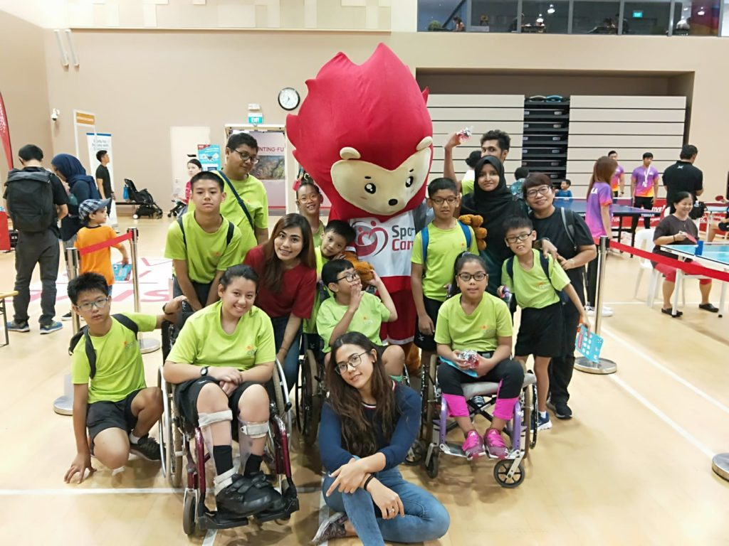 Fun filled activities and games with a special appearance by the mascot Nila