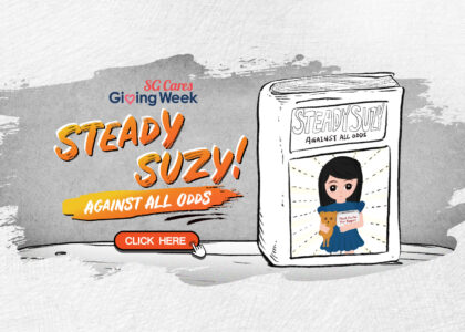 Steady Suzy! Against All Odds #GivingWeekSG