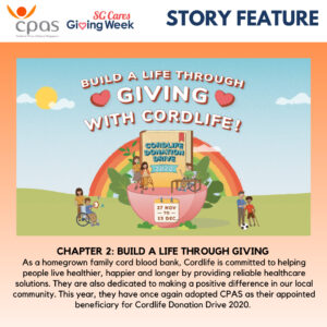 Chapter 2: Build a life through giving with Cordlife