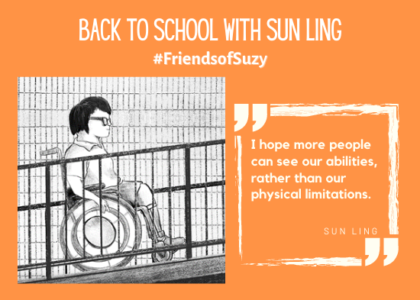 Back to School with Sun Ling #FriendsofSuzy