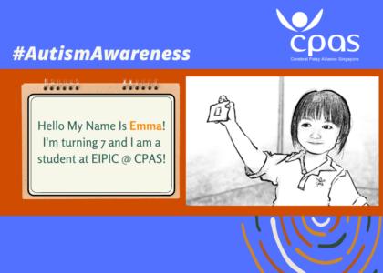 Meet Emma! #AutismAwareness #FriendsOfSuzy